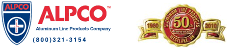 ALPCO - Aluminum Line Products Company - (800)321-3154