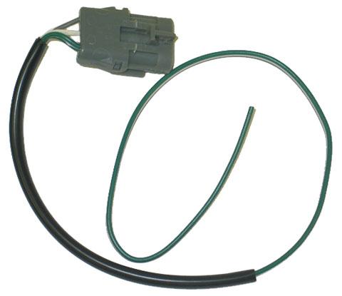 Corvette headlight motor repair wire harness with plug for Corvette headlight motor rebuild