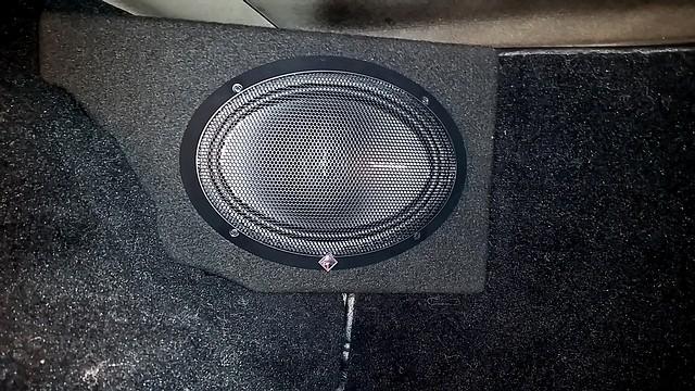 corvette custom rear radio speaker kit