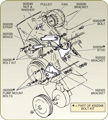 yb.dll?Parta~ShowPic~Z5Z5Z50000050g~Z5Z5Z5TFJ1Y~Z5Z5Z53 corvette alternator bracket with power steering 427 454 1968 1968 corvette alternator wiring diagram at suagrazia.org