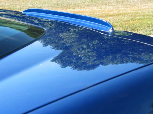 corvette third brake light housing    spoiler