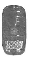 1960-1966 CHEVROLET TAIL LAMP LENS
