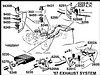 1955-1957 PIPE-MUFFLER INLET LEFT ALUMINIZED